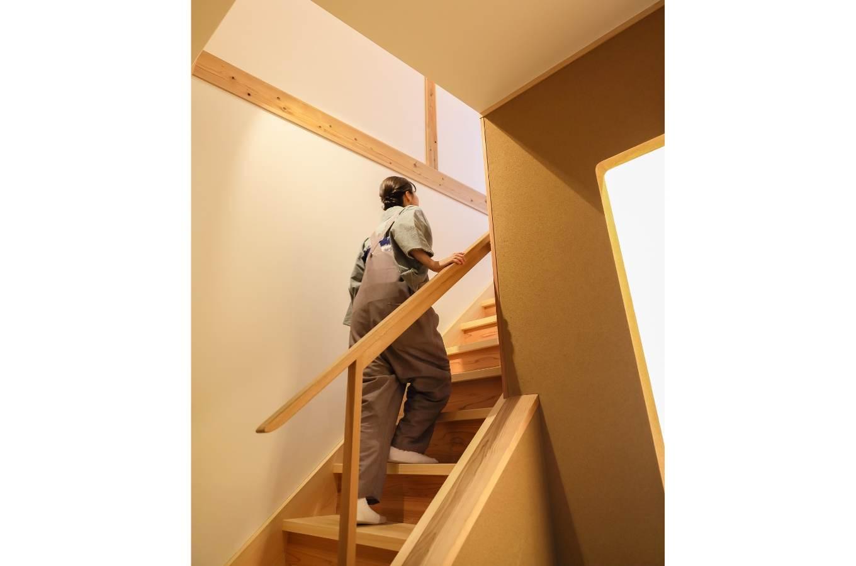暮らしの場面で4スライダー階段画像2
